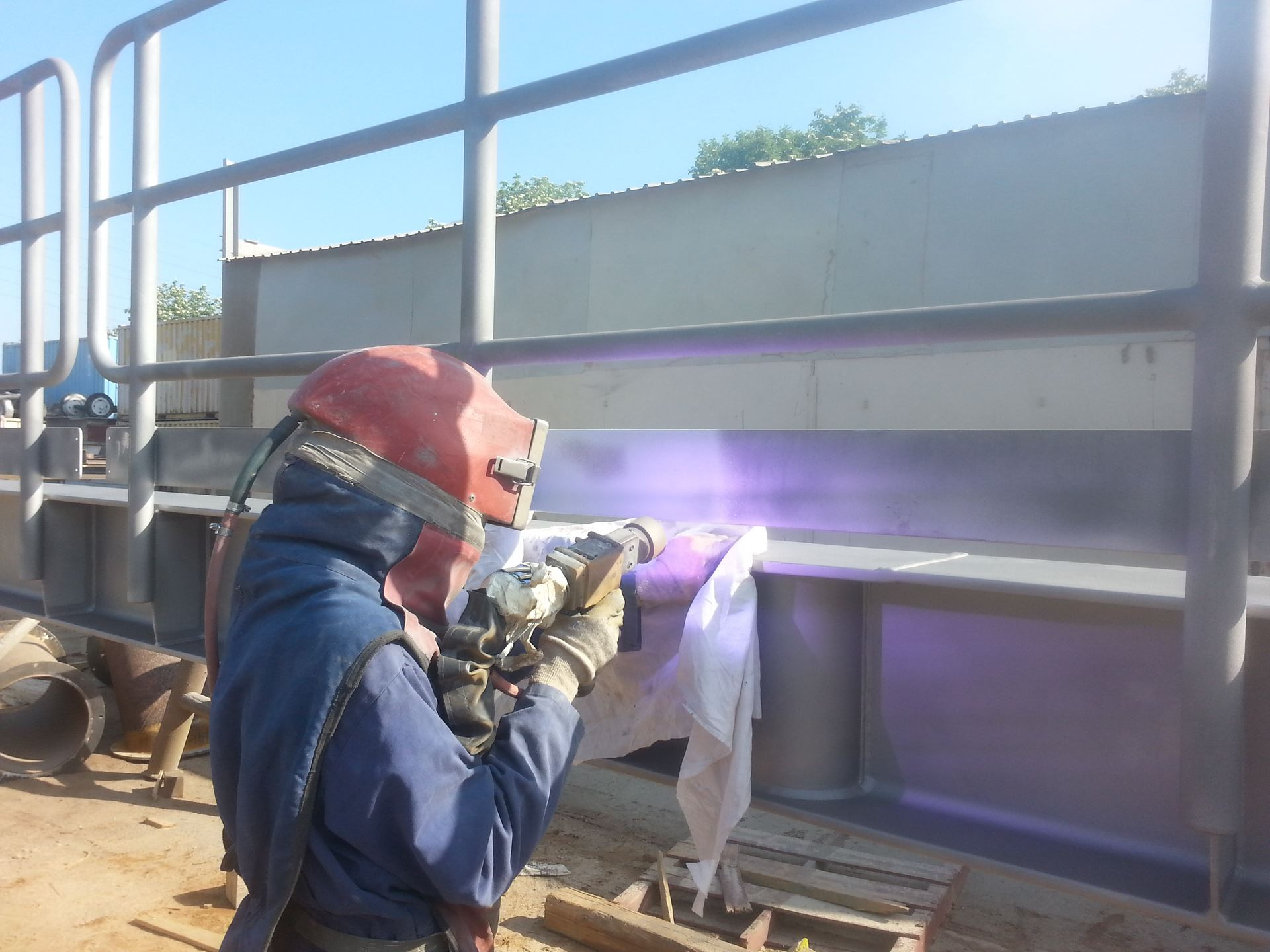 metalizacja barierek sml